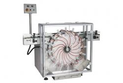 RXP-80花盘式空气洗瓶机